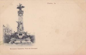 Monument Gambetta, Place Du Carrousel, Paris, France, 1900-1910s