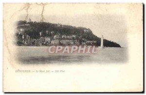 Old Postcard Honfleur Mont Joli Lighthouse