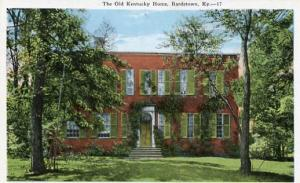 KY - Bardstown, The Old Kentucky Home