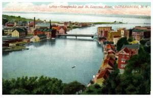10728  NY Ogdensburg  Owegatchie and St.Lawrence River