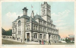 Duluth Minnesota~Post Office & Custom House~1908 Detroit Publ Co Postcard #9860