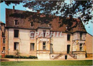 Modern Postcard Cluny (Saone et Loire) Le Palais d'Amboise Built in the sixte...