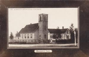 RP: MOOSOMIN , Saskatchewan, Canada, 1900-10s ; St Alban's Episcopal Church