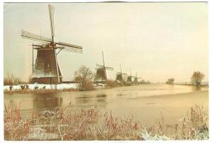 Holland, Netherlands, Drainage-mills of the Kinderdijk-complex, 1977 used