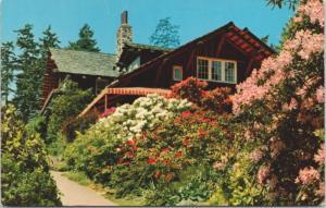 The Pavilion Stanley Park Vancouver BC Unused Vintage Postcard D63