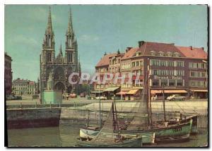 Modern Postcard Ostend Church SS Peter and Paul