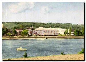 Modern Postcard Bonn Bundeshaus Blick vom Rhein