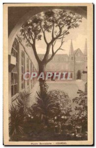 Old Postcard Musee Bernadette Soubirous Lourdes