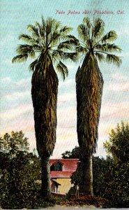 California Pasadena The Twin Palms 1908