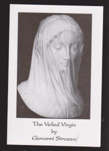 The Veiled Virgin By Giovanni Strazza - Information Card - Unused