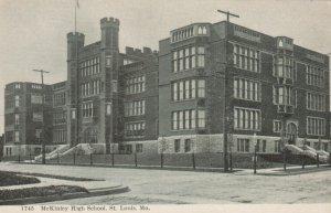 ST. LOUIS  , Missouri , 1901-07 ; McKinley High School