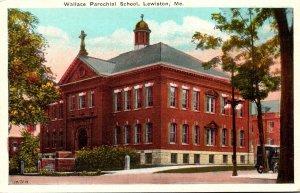 Maine Lewiston Wallace Parochial School