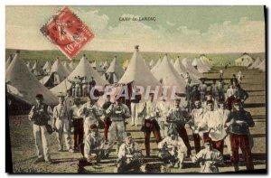 Old Postcard Militaria Camp of Larzac