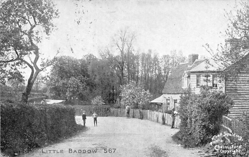 Little Baddow, children (Chelmsford) 1906