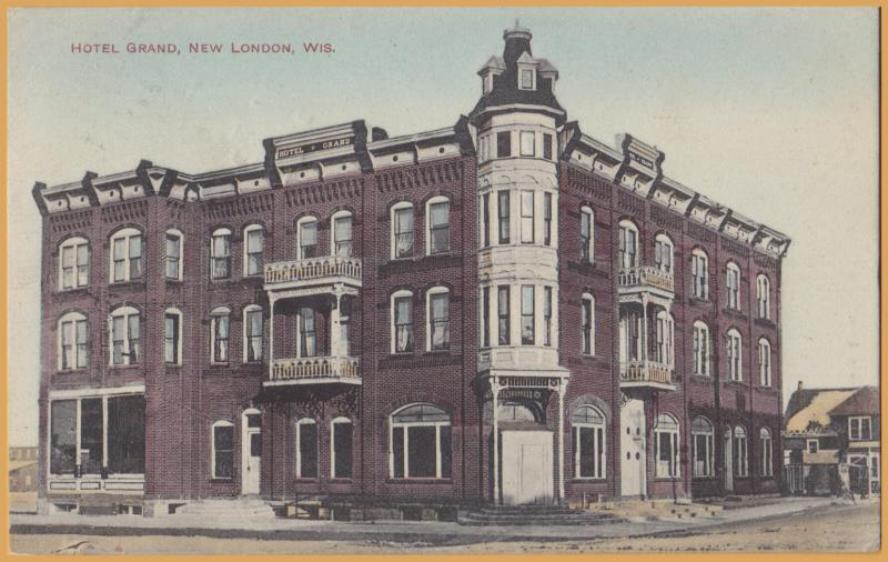 New London, WIS., Hotel Grand - 1909