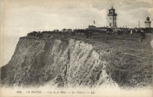 CPA  Le Havre - Cap de la Héve - La Falaise     (201231)