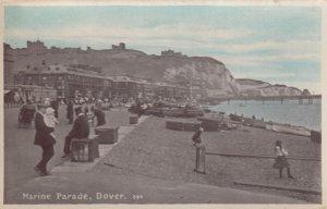 RP; DOVER, Kent, England, 1900-1910's; Marine Parade