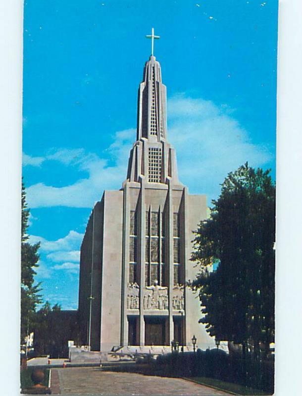 Unused Pre-1980 CHURCH SCENE Hartford Connecticut CT L4021