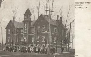 NAPANEE , Ontario , Canada , 1906 ; The West Ward School