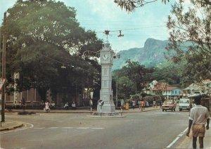 Postkarte Seychelles Island Victoria clock tower