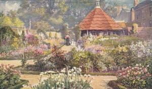 Famous Old Gardens, The Dairy Garden, Easton Lodge, England, UK, 1900-1910s