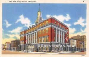 City Hall Hagerstown MD Unused