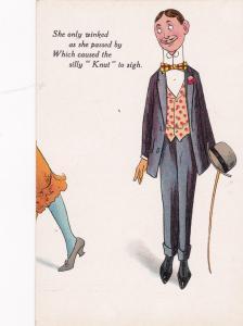 Knut Comic, Man looking at woman, 00-10s