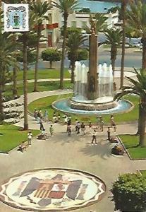 POSTAL 55598: MELILLA. Plaza Espa?