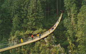 Capilano Suspension Bridge, VANCOUVER, British Columbia, Canada, 40-60´s
