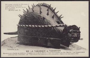 La Tarasque De Tarascon Postcard