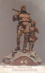 Schweiz Telldenkmal in Altdorf