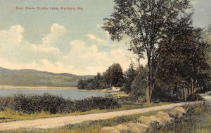 Harrison Maine East Shore Crystal Lake Scenic View Antique Postcard K30892