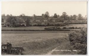 Northamptonshire; Sulgrave From The Mill RP PPC, Unposted, Plain Back