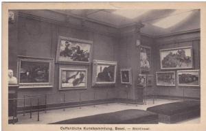 Oeffentliche Kunstsammiung, Basel. Bocklinsaal, 10-20s