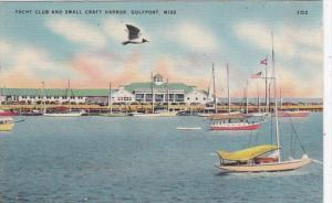 Mississippi Gulfport Yacht Club and Small Craft Harbor