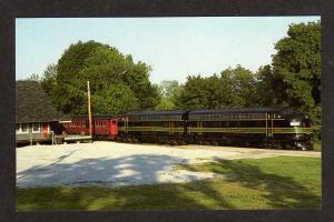 PA Reading Railroad Train Railway Kennett Square Penn Pensylvania Postcard RR