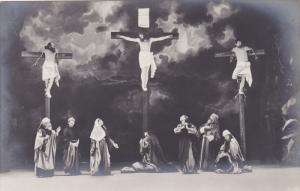 RP, Scenen Aus D. Oberammergauer Passionsspiel 1900, KREUZIGUNG (Crucifixion)...