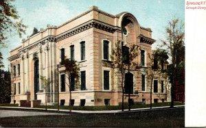 New York Syracuse Carnegie Library