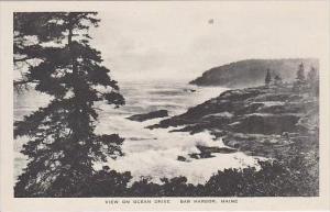 Maine Bar Harbor View On Ocean Drive Albertype