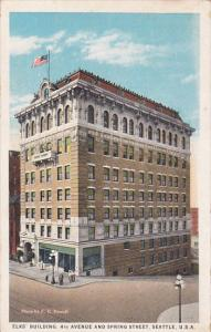 Elk's Building, 4th Avenue And Spring Street0, SEATTLE, Washington, 1910-1920s