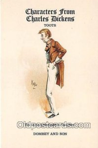 Reproductions - Characters from Charles Dickens Toots, Dombey & Son Unused