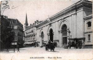 CPA  Aix-les-Bains - Place des Bains  (653734)