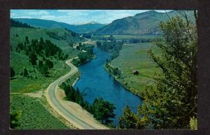 MT Big Hole Valley View Watercress Springs Montana Postcard PC