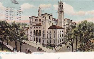 Jefferson Hotel Richmond Virginia 1907