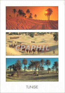 Postcard Modern Tunisia The Great South