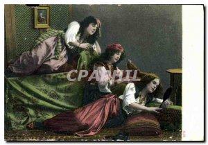 Postcard Old Women Turkey