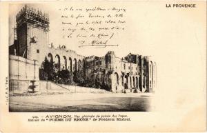 CPA AVIGNON - Vue générale du Palais (477279)