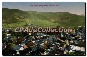 Old Postcard Schirmeck Kalmpte 1914