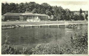 luxemburg, DIEKIRCH, La Plage, Route d'Ettelbrück (1930s) Postcard