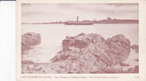 CAPE ELIZABETH, Maine, 1900-1910's; Cape Cottage To Cushing's Island, New Yor...